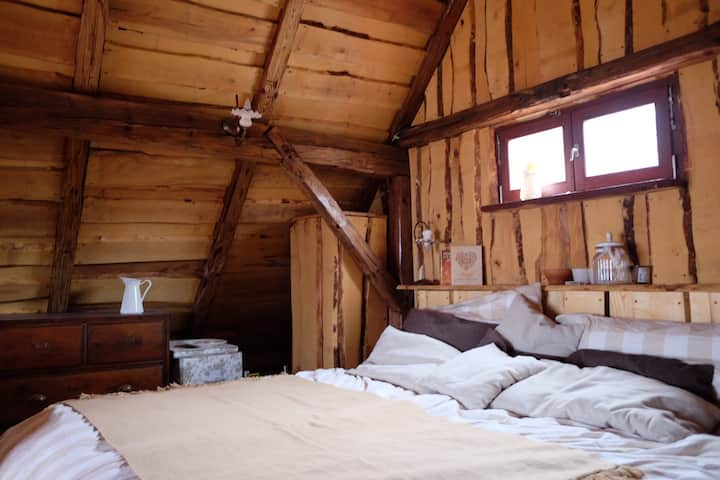Wooden love nest