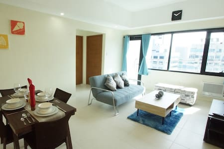 Comfy&Spacious Brand New 1-Bed in BGC w/ WiFi (B2) - タギッグ (Taguig) - コンドミニアム