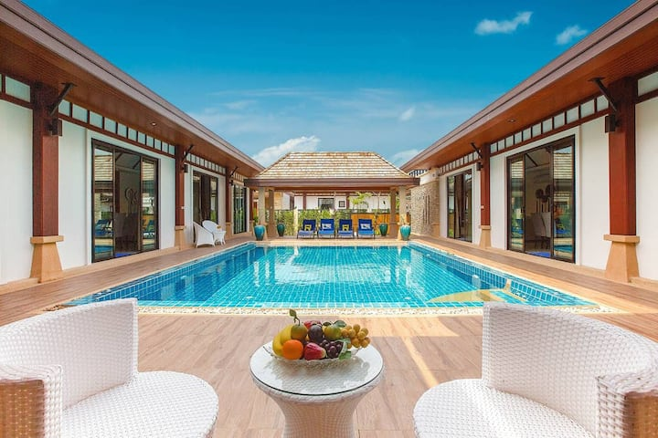 6 Bedroom LUX Pool Villa