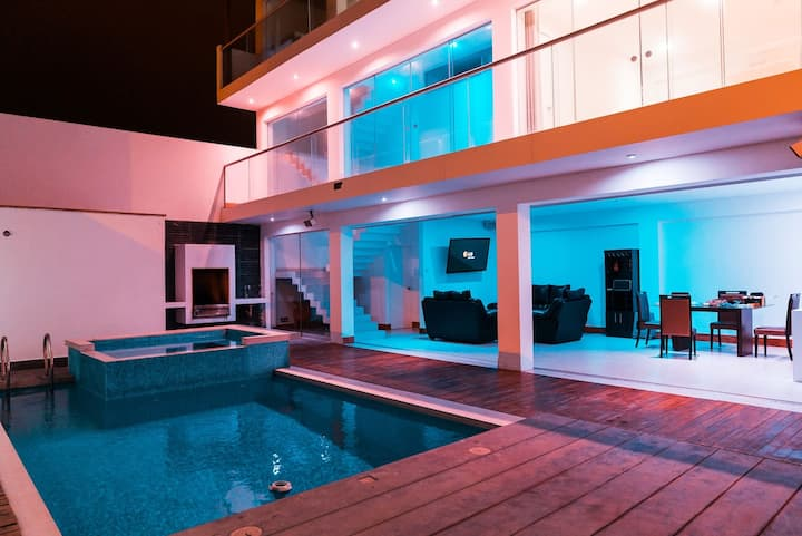 Villa Modern City ★ Bachelor Party ★ Jacuzzi &Pool