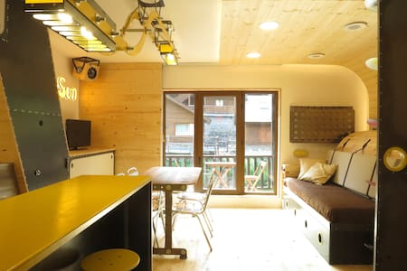 Studio moderne 2/4 pers.Vall d' Incles, hut5663