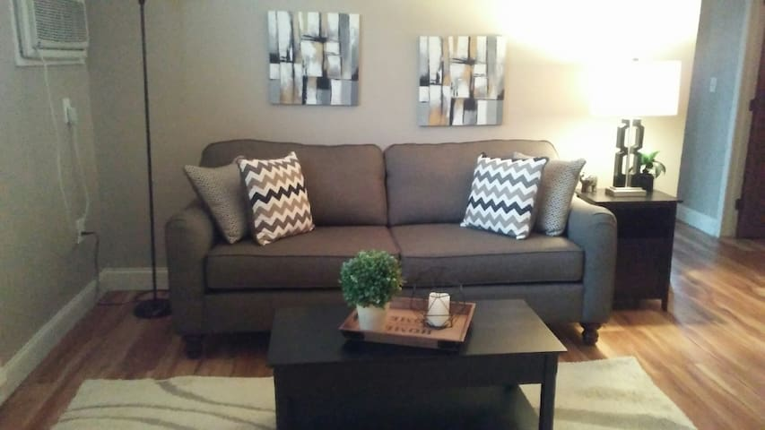 Weekly/monthly rent on fully furnished apartment.