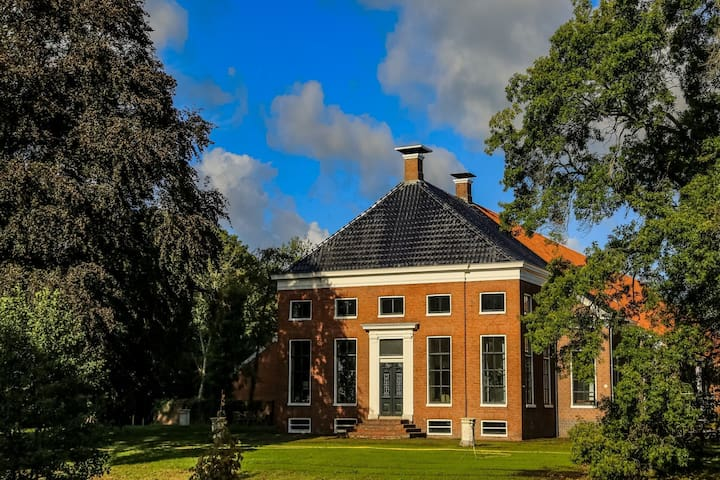 Beautifully restored farmhouse with indoor pool, sauna and whirlpool