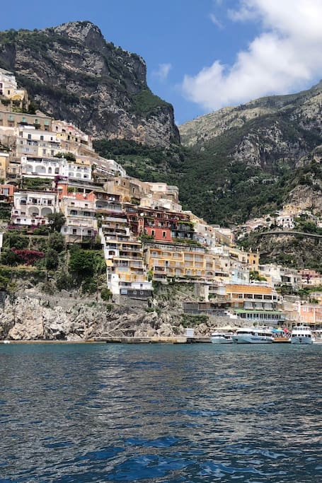 And back to where we began. Positano!