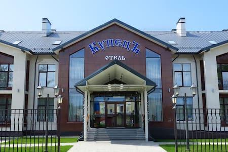 Отель в лесном уголке в п. Атепцево