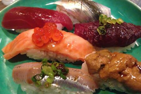 Enjoying sushi&surfing - 茅ヶ崎市