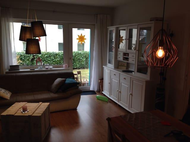 2,5 Zimmer Wohnung mit Garten - Hamburg - Apartment