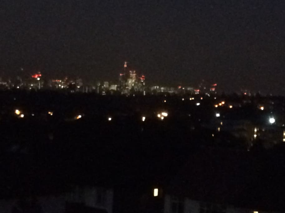 Night View of London from the loft