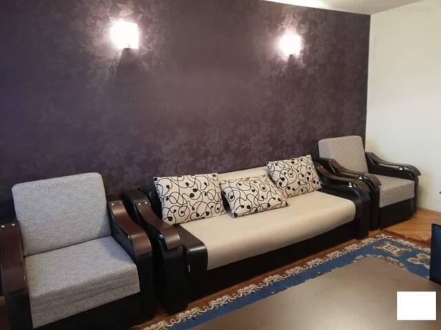 Delfinariu, Apartament cu 2 camere