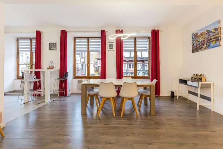 Appartement chaleureux hyper centre + parking