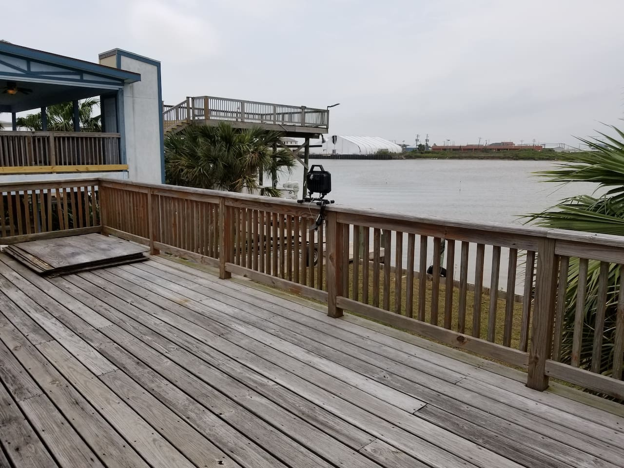 View of Intracoastal Waterway from Back Deck.