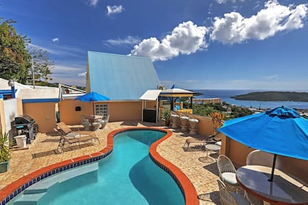 1BR St. Thomas Apartment w/Ocean Views & Pool - Northside - 公寓