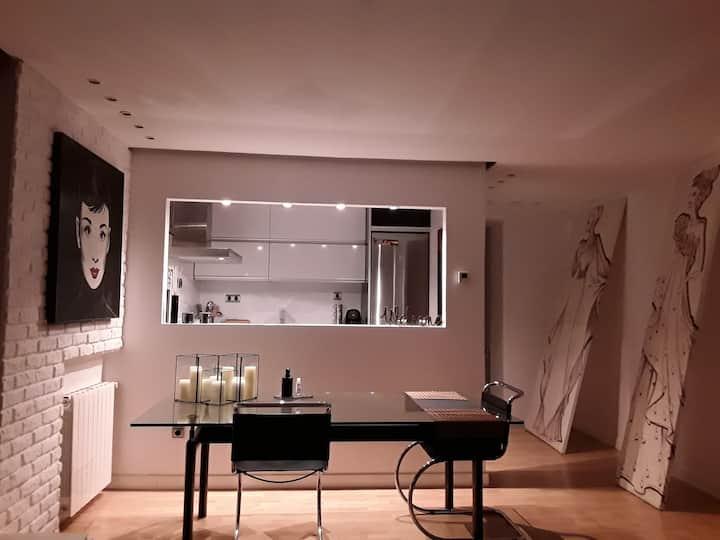 Elegante Loft con espacios abiertos y mucha Luz