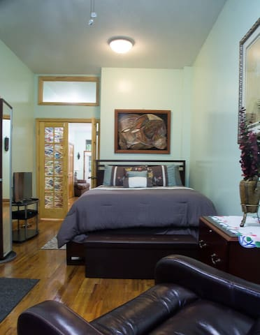 One Bedroom Apartment in Brownstone in Harlem, NYC