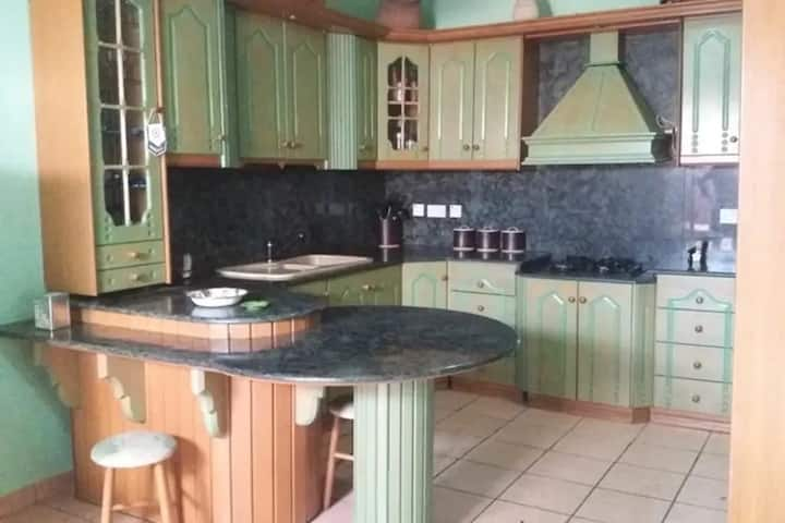 Apartment with two bedrooms self catering.