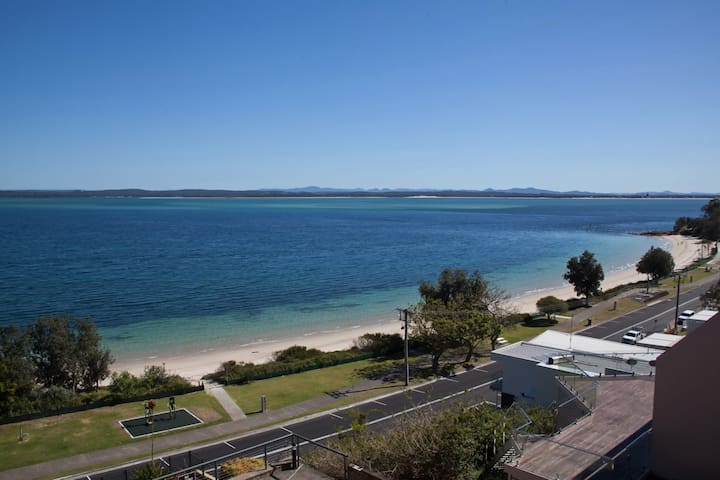 12 'Kiah', 53 Victoria Pde - panoramic water views in the heart of Nelson Bay