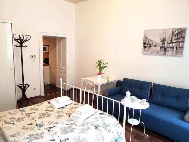 Cute and quiet apartment just for you! :)