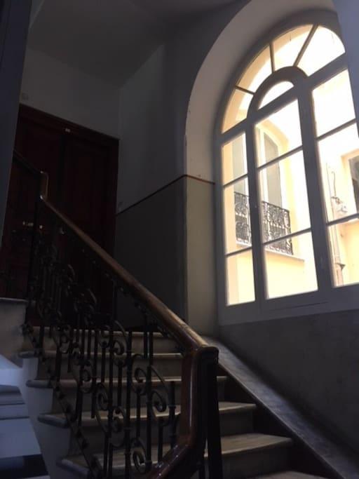 Vano scale esterno