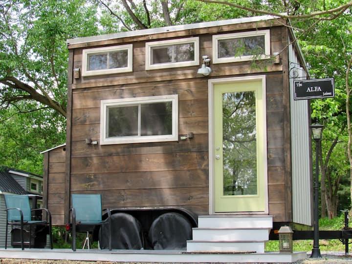The Alfa Tiny House on Tiny Estates 14 acres