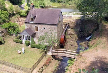 Family fun at the Mill. Romantic and tranquil too. - Coulouvray-Boisbenâtre - House