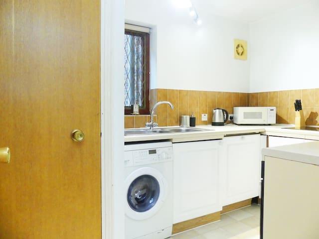 Kitchen with washer&dryer