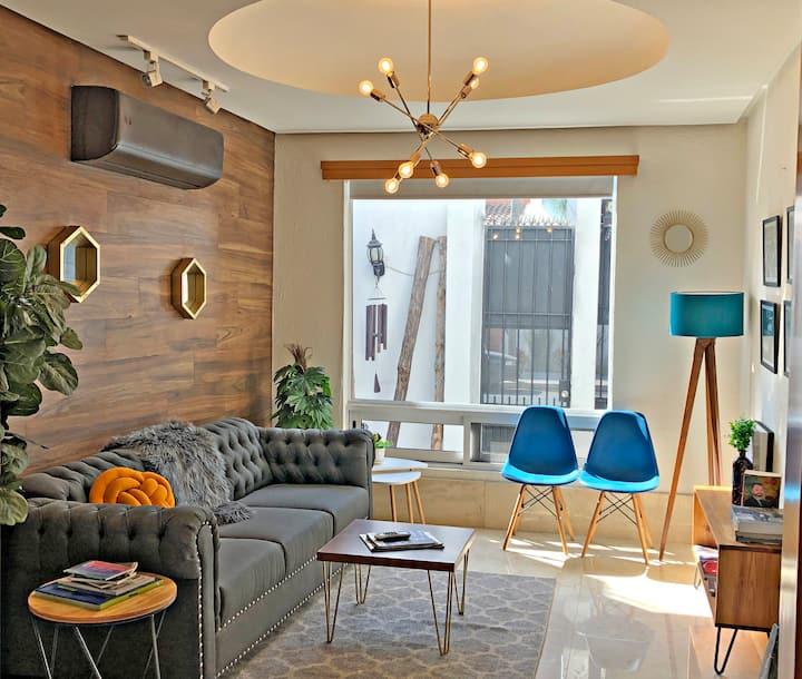 Hermosa suite acogedora y con vistas a San Pedro