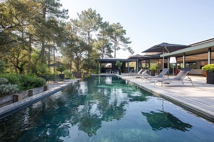 Amanjango, luxueuse villa au Golf de Seignosse - Seignosse - Villa