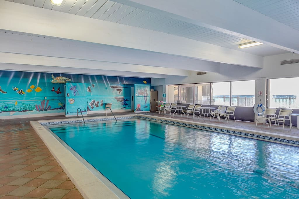 Pinnacle Port Features An Indoor Pool!