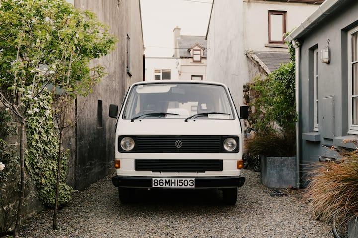 Vintage Camper Van in Boho Galway