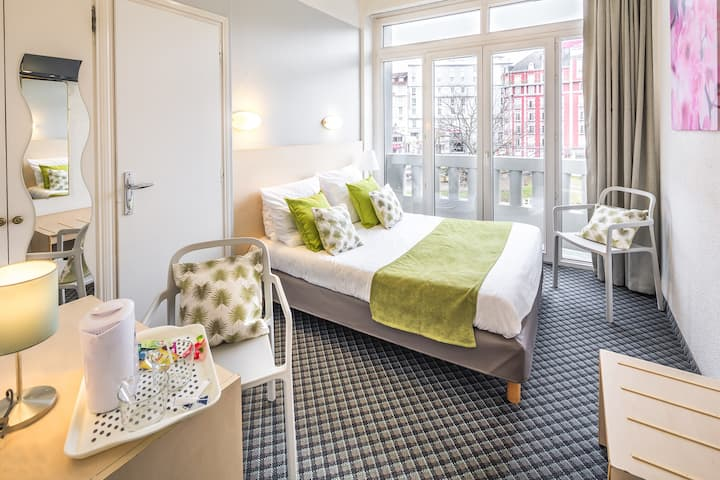 Chambre double Hôtel ND de France, hôtel familiale