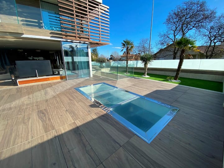 Exclusive with great view in minimalist style