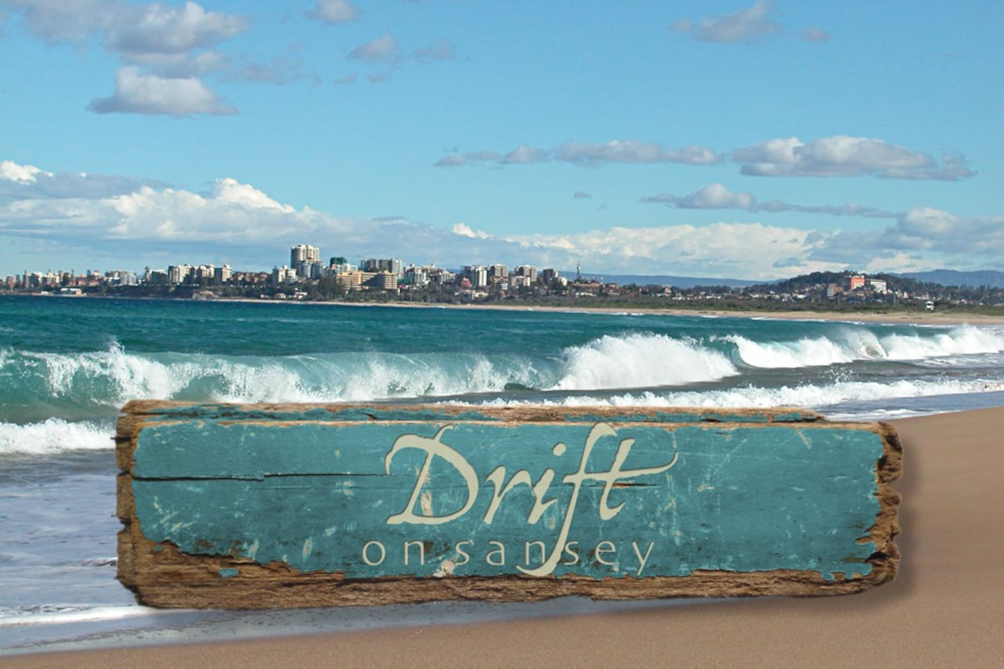 Drift is located only a 5 min drive from some of our greatest beaches, a source for our drift wood and shells supplies, used in our mosaic and decorative art