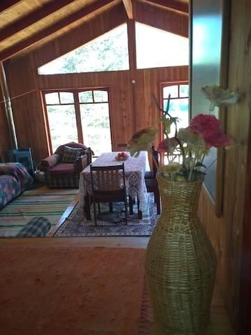 Hermosa cabaña en Parque Nacional Huerquehue