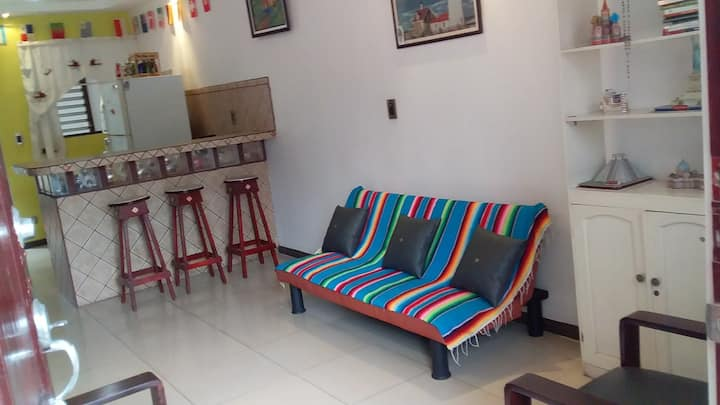 Apartamento cómodo y equipado en Tres Ríos