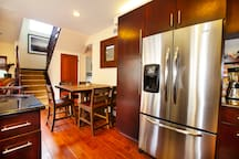 Updated appliances through out your custom kitchen