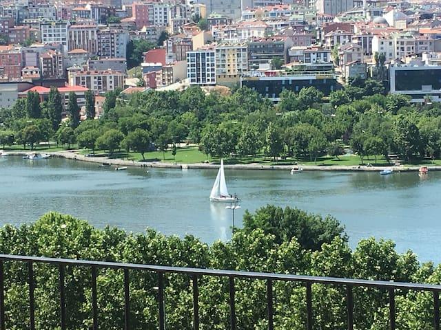 Golden Horn - an inlet of the Bosphorus