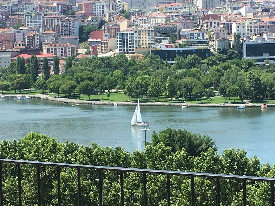 Golden Horn - an inlet of the Bosphorus