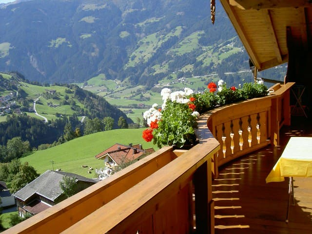 App.  in  dream location, Zillertal!
