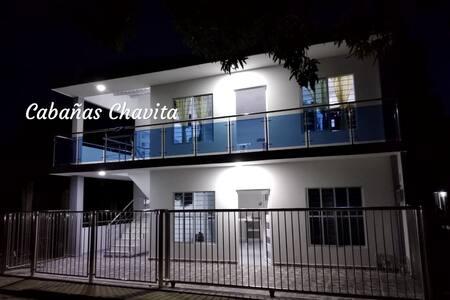 CABAÑAS CHAVITA, COVEÑAS (Apartaestudio 1° piso)