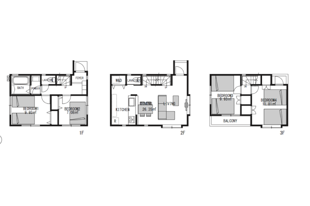 The house plan.