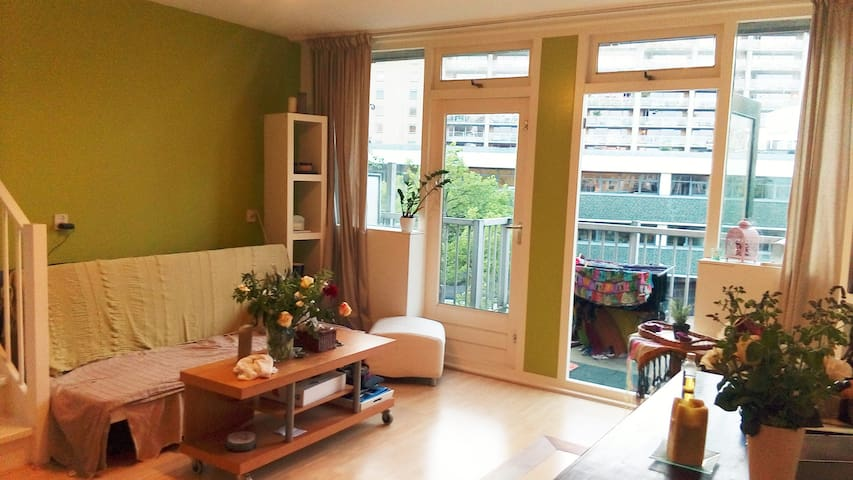 Lovely 2floor apartment in the center of Rotterdam - Rotterdam - Villa
