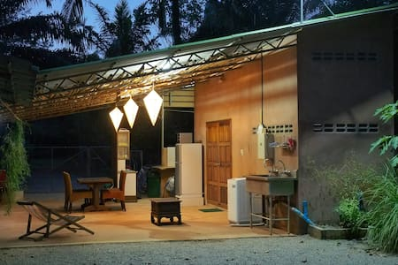 Ecovilla Bungalow: Private, Large garden & animals