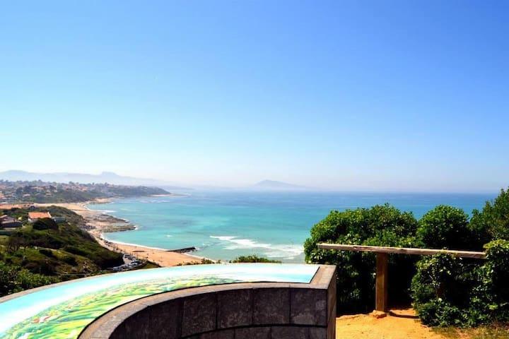 Bidart l'océan au pied de la montagne T3 - Bidart - Condominium
