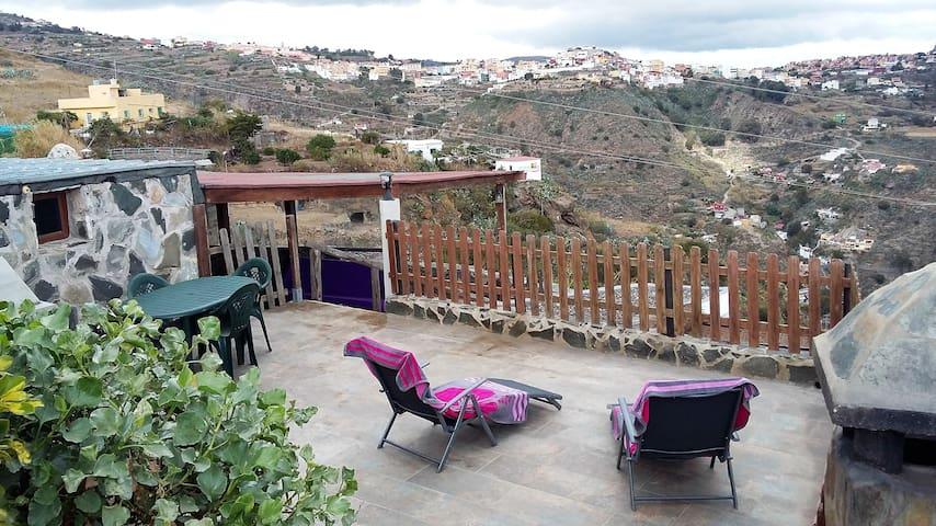 Gran Canaria.Casa rural El Palmital - Balcon de Telde - Casa