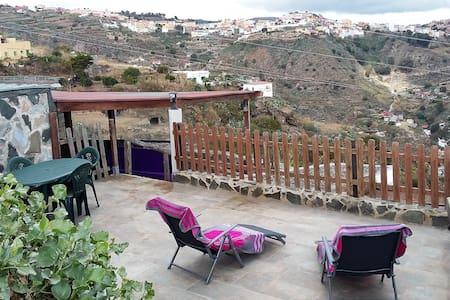Gran Canaria.Casa rural El Palmital - Balcon de Telde