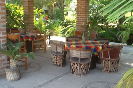 Cozy and beautiful bungalow, 2 bedroom, 2 bathroom - Bucerías - Bungalov