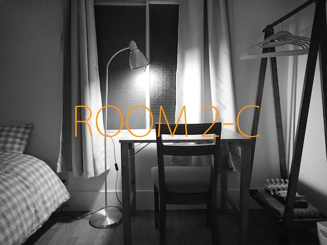 2-C / Simple room in a great location - Setagaya-ku