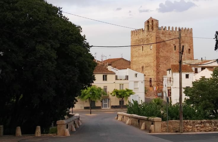 CASA EN UN PUEBLO CON ENCANTO - La Galera - Rumah