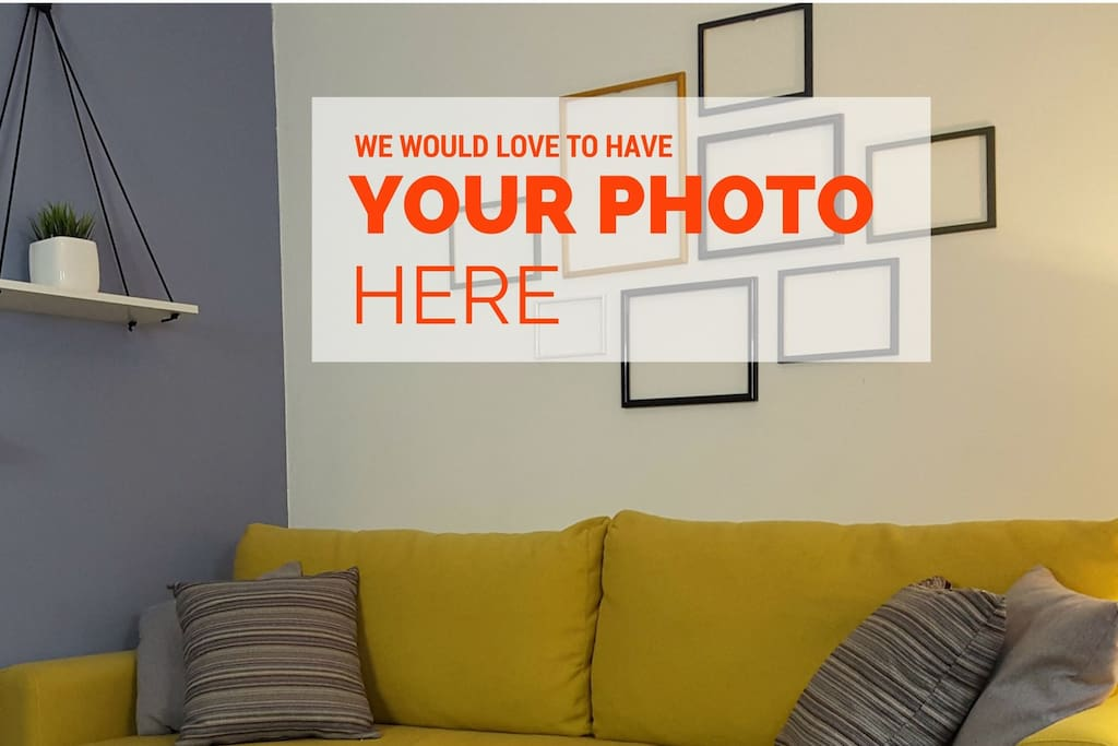 We would love to put your memory photo on the walls ...
