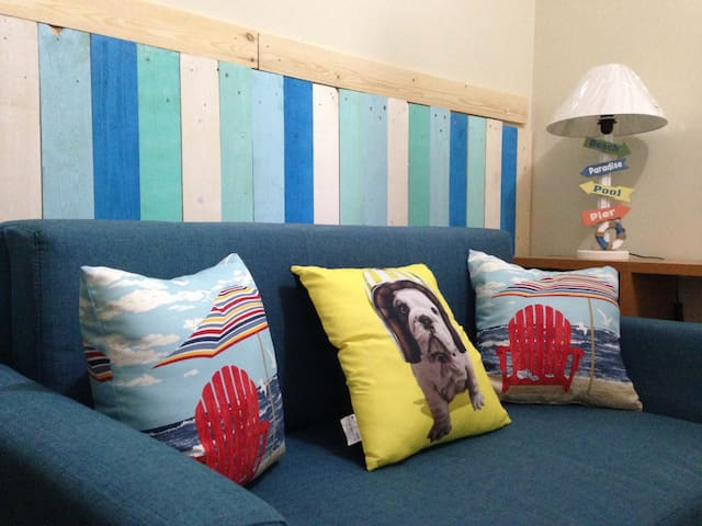 Relaxing Beach-themed Condo at the Mall of Asia - Pasay City - Condo
